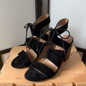 Merona Lace Heel with Tie